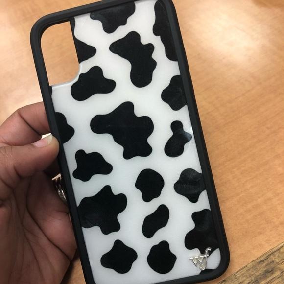 reputable site f0de3 8258b Wildflower Moo Moo IPhone Case